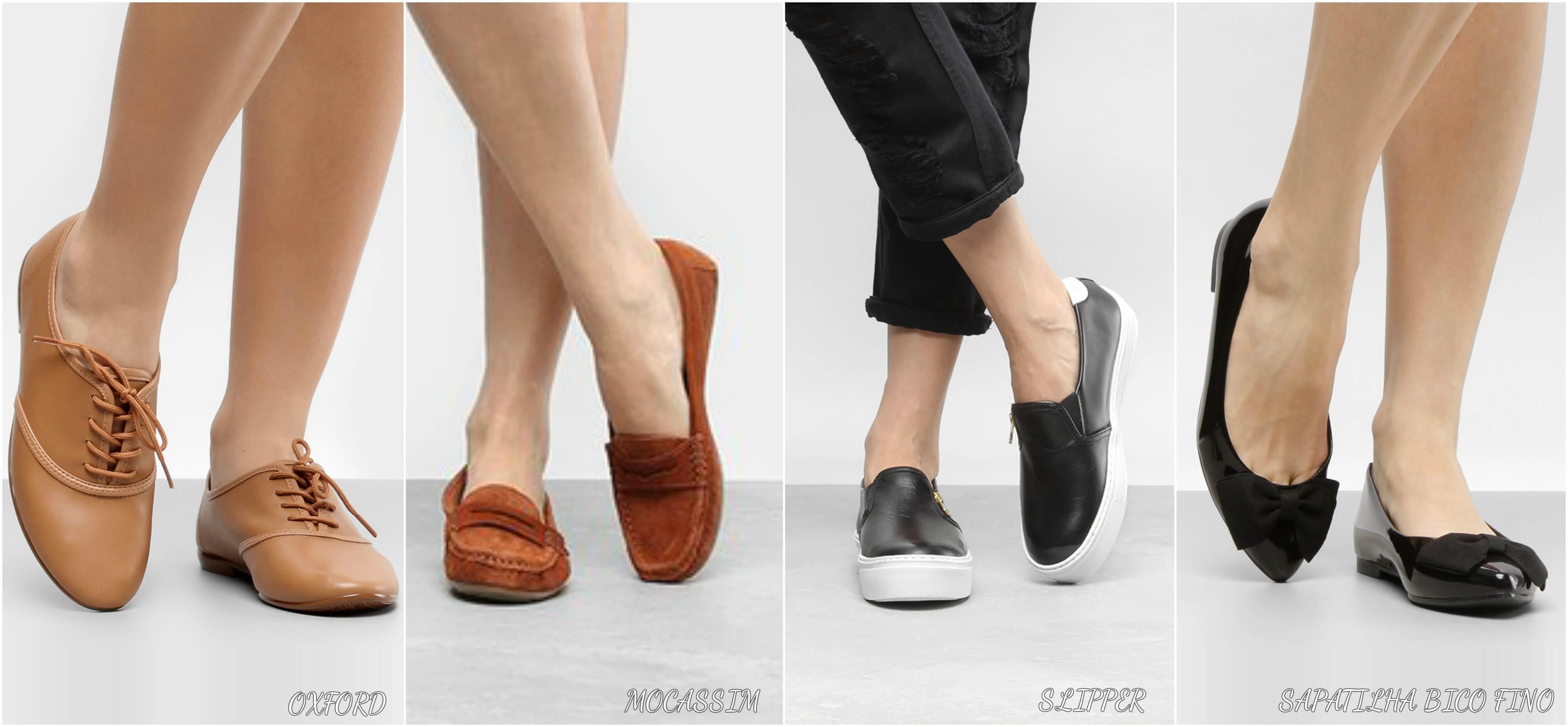6c5f0250b ... ou até mesmo uma sapatilha de bico fino, que dependendo do material ou  até mesmo da cor podem dar um toque final incrível para o seu look.