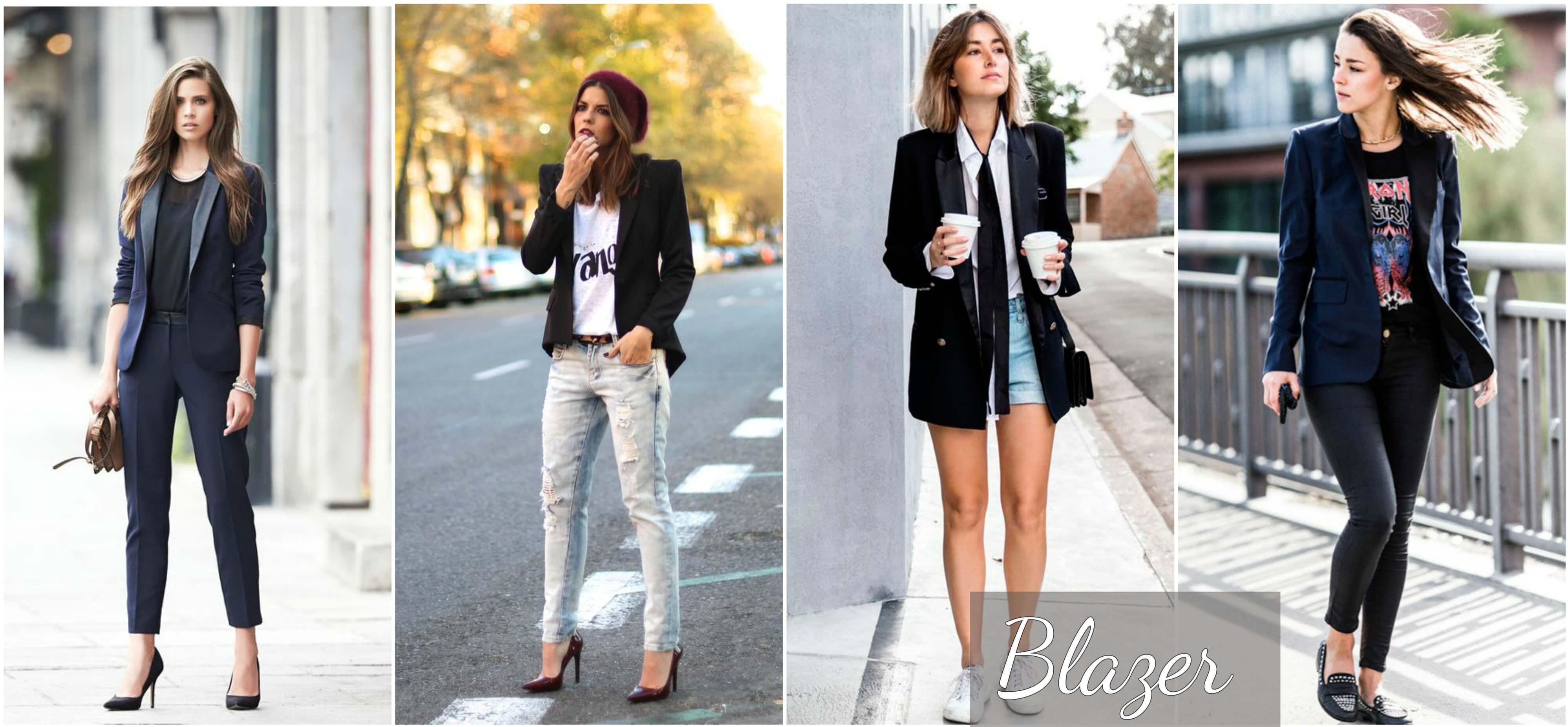 d25712c7d O blazer foi roubado do guarda-roupa masculino e fica perfeito nas mulheres  de qualquer idade. Quem ainda não tem um pode investir no modelo clássico,  ...